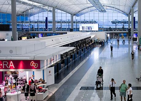 Chek Lap Kok Airport, Hong Kong